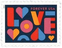 USA - Love 2021 - Postituoreena