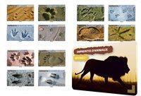 Frankrig - Dyrespor - Postfrisk frimærkehæfte