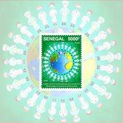 Senegal - COVID-19 - Mint souvenir sheet