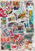 Frankrig - 1000 forskellige stemplede frimærker
