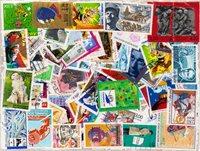 Frankrig - 500 forskellige stemplede frimærker