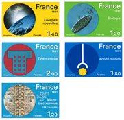 France - YT ND2126/30 - Non-dentelé