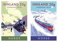 Norvège - Chemin de fer de Dovre - Série neuve adh.