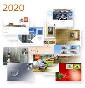 Estland - Jaarset 2020 - FDCs