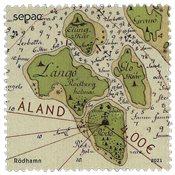 Åland - SEPAC 2021 historisk landkort - Postfrisk frimærke