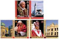 Vatican - Pape Benoît XVI - Série neuve 3v