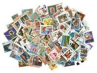 Népal - 1000 timbres oblitérés différents