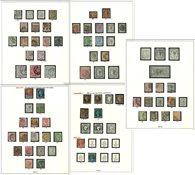 Grande-Bretagne - Collection en album et sur des pages d'album - 1840-1989