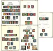 Berlin - Collection in 1 album and loose pre-printed album pages - 1948-1979
