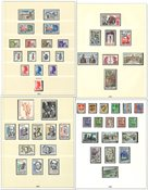 France - Collection in 3 pre-printed albums - 1960-1995