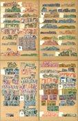 Tunisia - Duplicate collection in thick album - 1888-1980