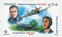 Frankrig - P.Clostermann - Postfrisk frimærke