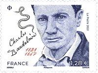 Frankrig - C.Baudelaire - Postfrisk frimærke
