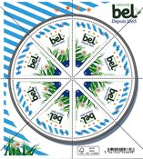 Frankrig - Bel Groupe - Postfrisk miniark