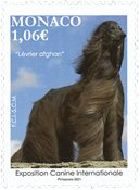 Monaco - Hundeudstilling 2021 - Postfrisk frimærke