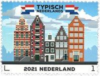 Holland - Typisk hollandsk - Kanalhuse - Postfrisk