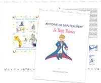 Frankrig - Den lille Prins - Philexfrance '99 - Stemplet miniark i folder