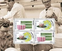 Sverige - Porcelænsmønstre - Miniark postfrisk
