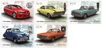 Australien - Holden biler - Postfrisk sæt 5v