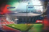 Ungarn - Puskas Arena - Postfrisk miniark