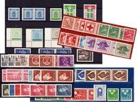 Sverige - Postfrisk lot fra perioden 1945-1973