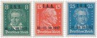 Deutsches Reich 1927 - Michel 407/409 - Postituore