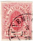 Luxemburg 1859 - Michel 7 - Leimattu