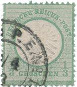 Deutsches Reich 1872 - Michel 2b - Leimattu
