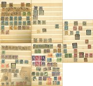 Skandinavien - Gammel dublet samling i 1 indstiksbog