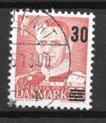 Danimarca - AFA 363ax - timbrato