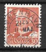 Danimarca - AFA 337C - timbrato