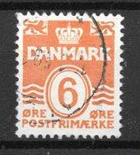 Danimarca - AFA 254X - timbrato