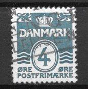 Danimarca - AFA 198Bx - timbrato