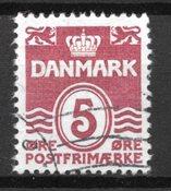 Danimarca - AFA 246x - timbrato