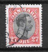 Danimarca - AFA 102 - timbrato