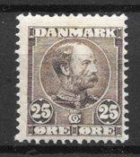 Danmark - AFA 49a - Ustemplet