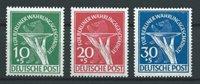 Berliini 1951 - AFA 68-70 - Käyttämätön liimakkeella