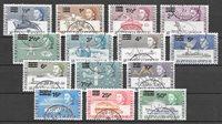 Brittiläinen imperiumi 1971 - MICHEL 25-38 - Leimattu