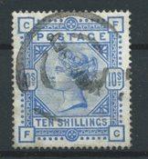 Englanti 1883 - AFA 84 - Leimattu