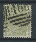 Englanti 1873 - AFA 48 - Leimattu