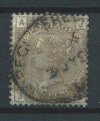 Englanti 1880 - AFA 61 - Leimattu
