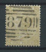 Englanti 1867 - AFA 31 - Leimattu
