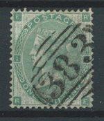 Englanti 1862 - AFA 22 - Leimattu