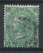 Englanti 1865 - AFA 27 - Leimattu