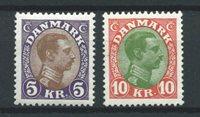 Danemark 1927 - AFA 176-177 - Neuf avec charnières
