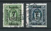 Danemark 1926 - AFA 163 + 166 - Oblitéré