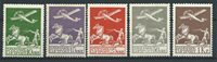 Danemark 1925 - AFA 144-45 + 181-82 - Neuf avec charnières
