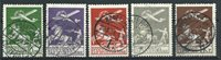 Danemark 1925 - AFA 144-45 + 181-82 - Oblitéré