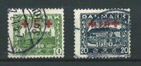 Danemark 1921 - AFA 120-121 - Oblitéré