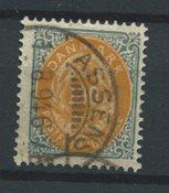Danimarca 1875 - AFA 31 - timbrato